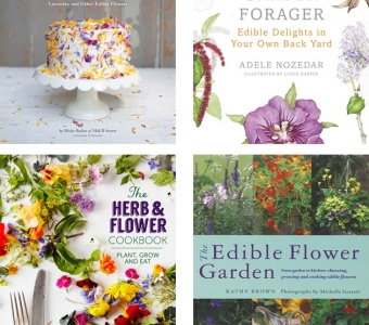 Edible flower books