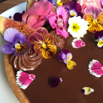 Edible flowers for cakes & desserts