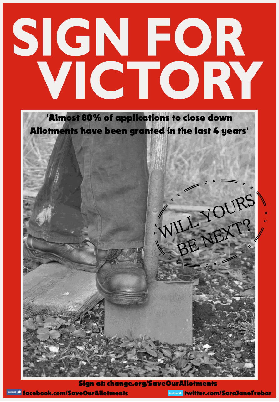 Sign for Victory poster